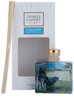 Yankee Candle Clean Cotton aроматизиращ дифузер с пълнител  Signature