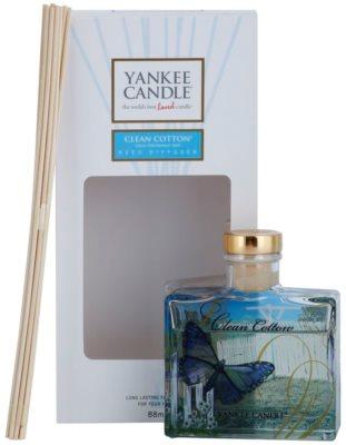 Yankee Candle Clean Cotton difusor de aromas con el relleno  Signature