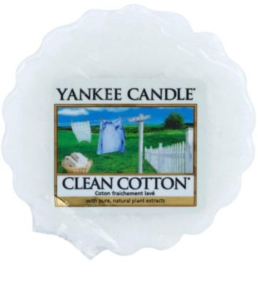 Yankee Candle Clean Cotton illatos viasz aromalámpába