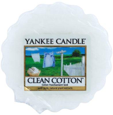 Yankee Candle Clean Cotton Wachs für Aromalampen