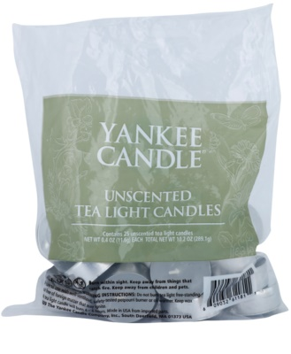 Yankee Candle Unscented teamécses