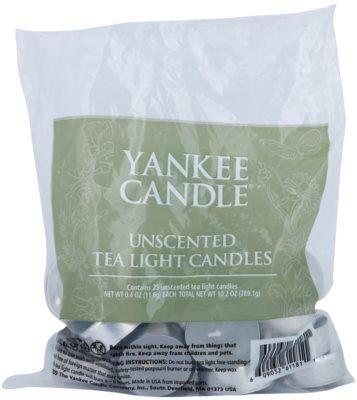 Yankee Candle Unscented vela do chá
