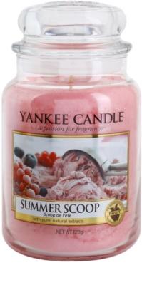 Yankee Candle Summer Scoop vela perfumado  Classic grande