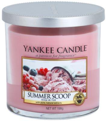 Yankee Candle Summer Scoop vela perfumado  Décor pequena
