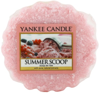 Yankee Candle Summer Scoop illatos viasz aromalámpába