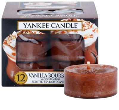 Yankee Candle Vanilla Bourbon čajna sveča