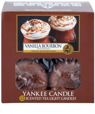 Yankee Candle Vanilla Bourbon vela do chá 2