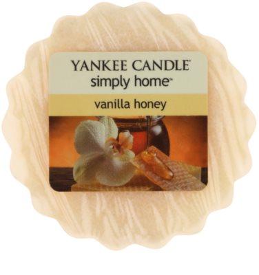 Yankee Candle Vanilla Honey illatos viasz aromalámpába