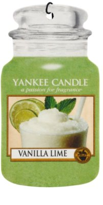 Yankee Candle Vanilla Lime aромат для авто  підвісний