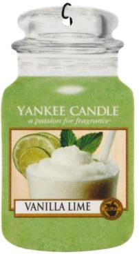 Yankee Candle Vanilla Lime ambientador auto  suspenso