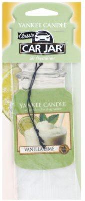 Yankee Candle Vanilla Lime ambientador auto  suspenso 1