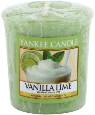Yankee Candle Vanilla Lime votivní svíčka