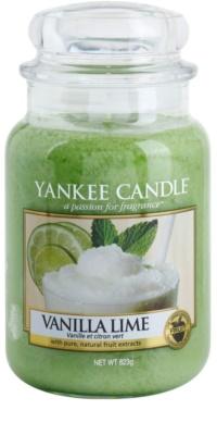 Yankee Candle Vanilla Lime vela perfumada   Classic grande