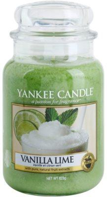 Yankee Candle Vanilla Lime vonná svíčka  Classic velká