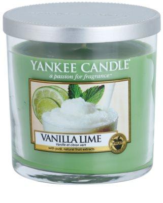 Yankee Candle Vanilla Lime ароматна свещ   Décor малка