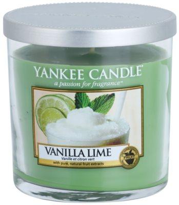 Yankee Candle Vanilla Lime illatos gyertya   Décor kicsi