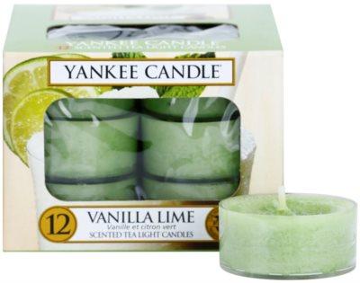 Yankee Candle Vanilla Lime Teelicht