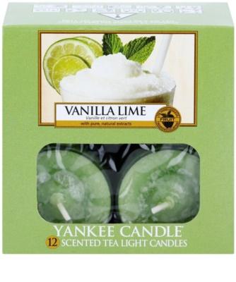 Yankee Candle Vanilla Lime čajová svíčka 1