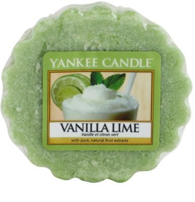 Yankee Candle Vanilla Lime illatos viasz aromalámpába