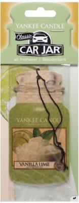 Yankee Candle Vanilla Lime vonná auto visačka