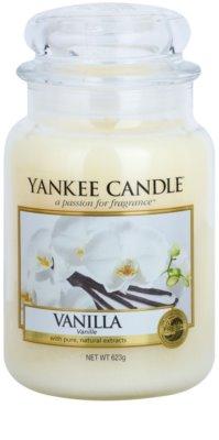 Yankee Candle Vanilla illatos gyertya   Classic nagy méret