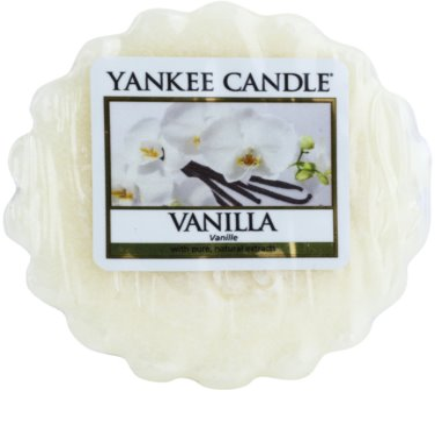 Yankee Candle Vanilla cera derretida aromatizante