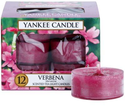 Yankee Candle Verbena vela do chá