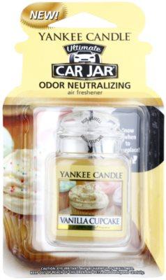 Yankee Candle Vanilla Cupcake ambientador para coche   de suspensión