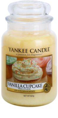 Yankee Candle Vanilla Cupcake vela perfumado  Classic grande