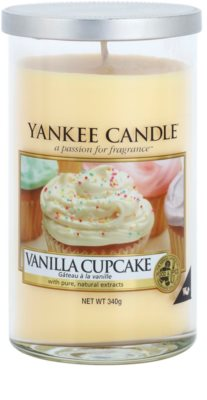 Yankee Candle Vanilla Cupcake vela perfumada   Décor Medium