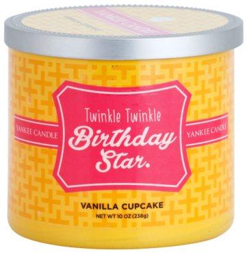 Yankee Candle Vanilla Cupcake dišeča sveča    (Twinkle Twinkle Birthday Star)