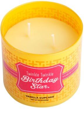 Yankee Candle Vanilla Cupcake illatos gyertya    (Twinkle Twinkle Birthday Star) 1