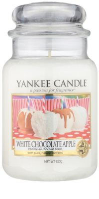 Yankee Candle White Chocolate Apple Duftkerze   Classic groß