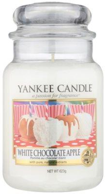 Yankee Candle White Chocolate Apple lumanari parfumate   Clasic mare