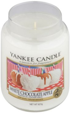 Yankee Candle White Chocolate Apple Duftkerze   Classic groß 1