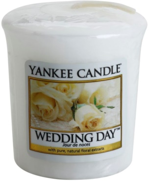 Yankee Candle Wedding Day vela votiva