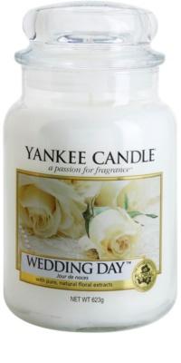 Yankee Candle Wedding Day świeczka zapachowa   Classic duża