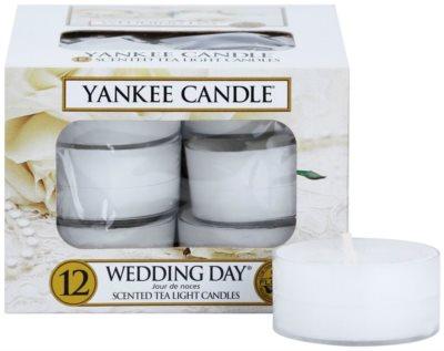 Yankee Candle Wedding Day vela de té