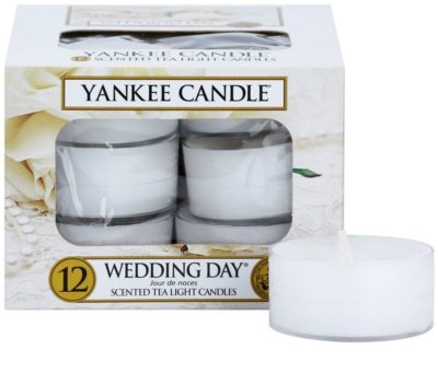 Yankee Candle Wedding Day vela do chá
