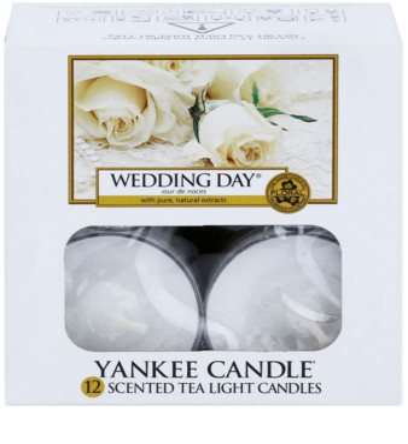 Yankee Candle Wedding Day świeczka typu tealight 1