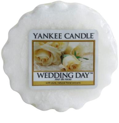 Yankee Candle Wedding Day cera derretida aromatizante