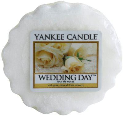 Yankee Candle Wedding Day cera para lámparas aromáticas