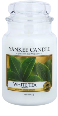 Yankee Candle White Tea dišeča sveča   Classic velika