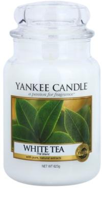Yankee Candle White Tea świeczka zapachowa   Classic duża