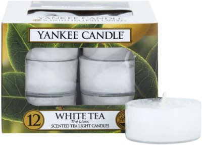 Yankee Candle White Tea vela de té