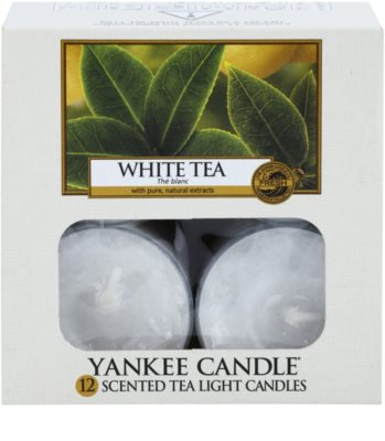Yankee Candle White Tea lumânare 2
