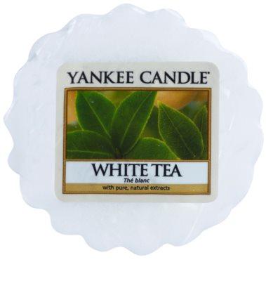 Yankee Candle White Tea cera derretida aromatizante
