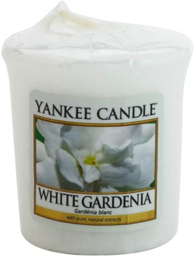 Yankee Candle White Gardenia vela votiva