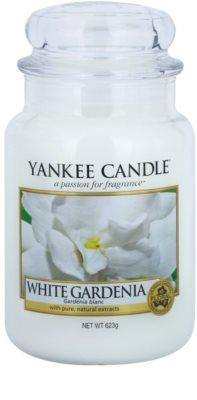 Yankee Candle White Gardenia ароматна свещ   Classic голяма