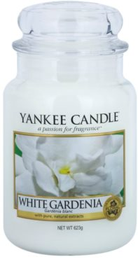 Yankee Candle White Gardenia vela perfumada   Classic grande